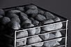 Настеная электрокаменка HUUM CLIFF 9 кВт, объем парилки 9-15 м.куб, вес камней 75 кг, фото 4