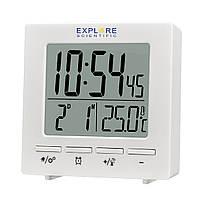Годинники настільні Explore Scientific RC Mini Alarm White (RDC1005GYELC2)