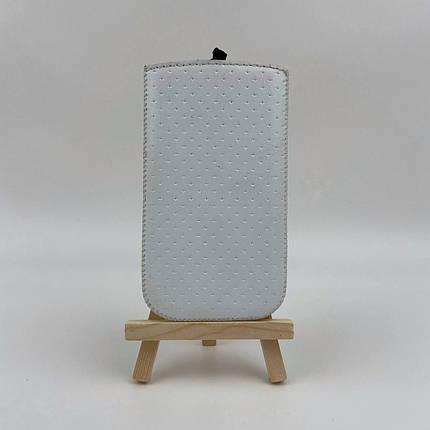 Чехол вытяжка универсальная Valenta 3,5 дюйма белая, фото 2