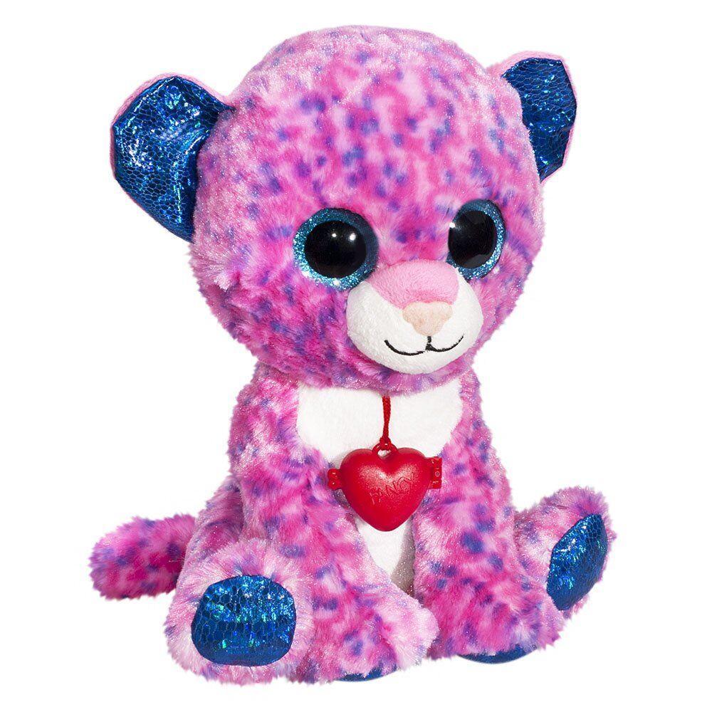 М'яка іграшка FANCY Леопард Глазастик 23см (GLP0R\S)