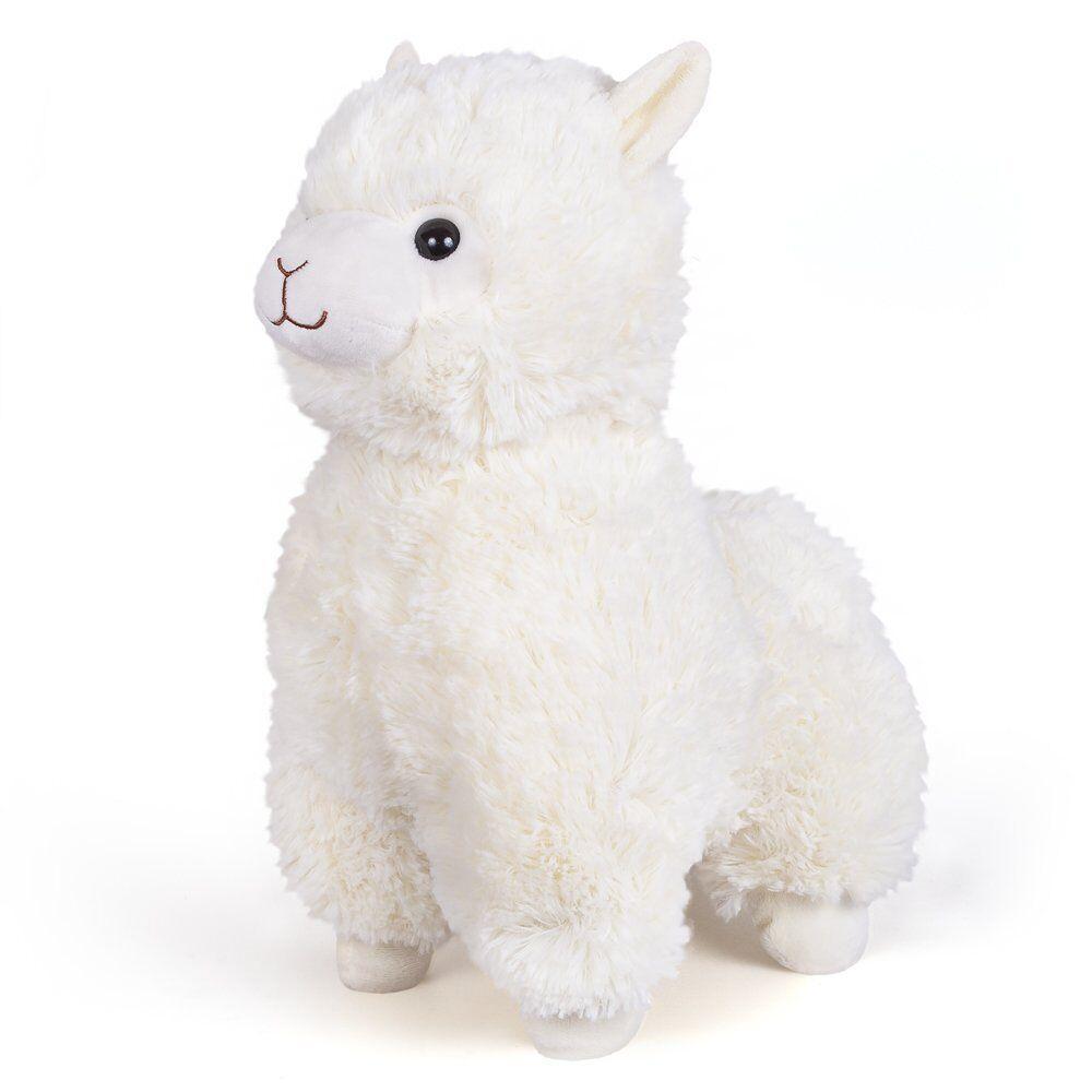 М'яка іграшка FANCY біла Альпака 38 см (ALPK1/L)