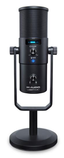 Конденсаторный  USB микрофон M-AUDIO Uber Mic