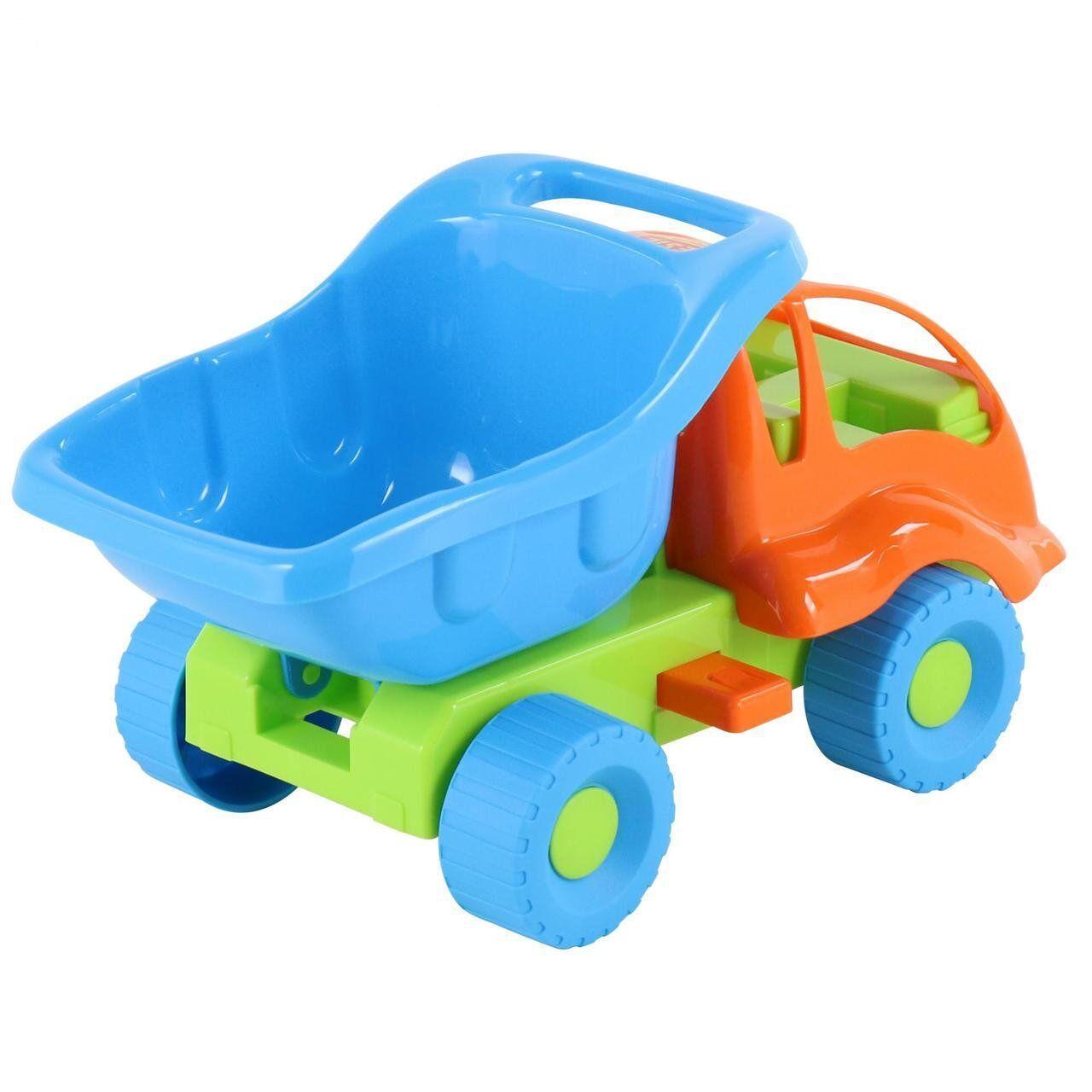 """Машинка самоскид """"Мураха"""" Polesie, помаранчево-блакитний (3102-1)"""