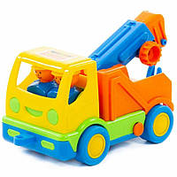 """Іграшка Polesie автомобіль-евакуатор """"Мій перший вантажівка"""" (в сіточці) (5458), фото 1"""
