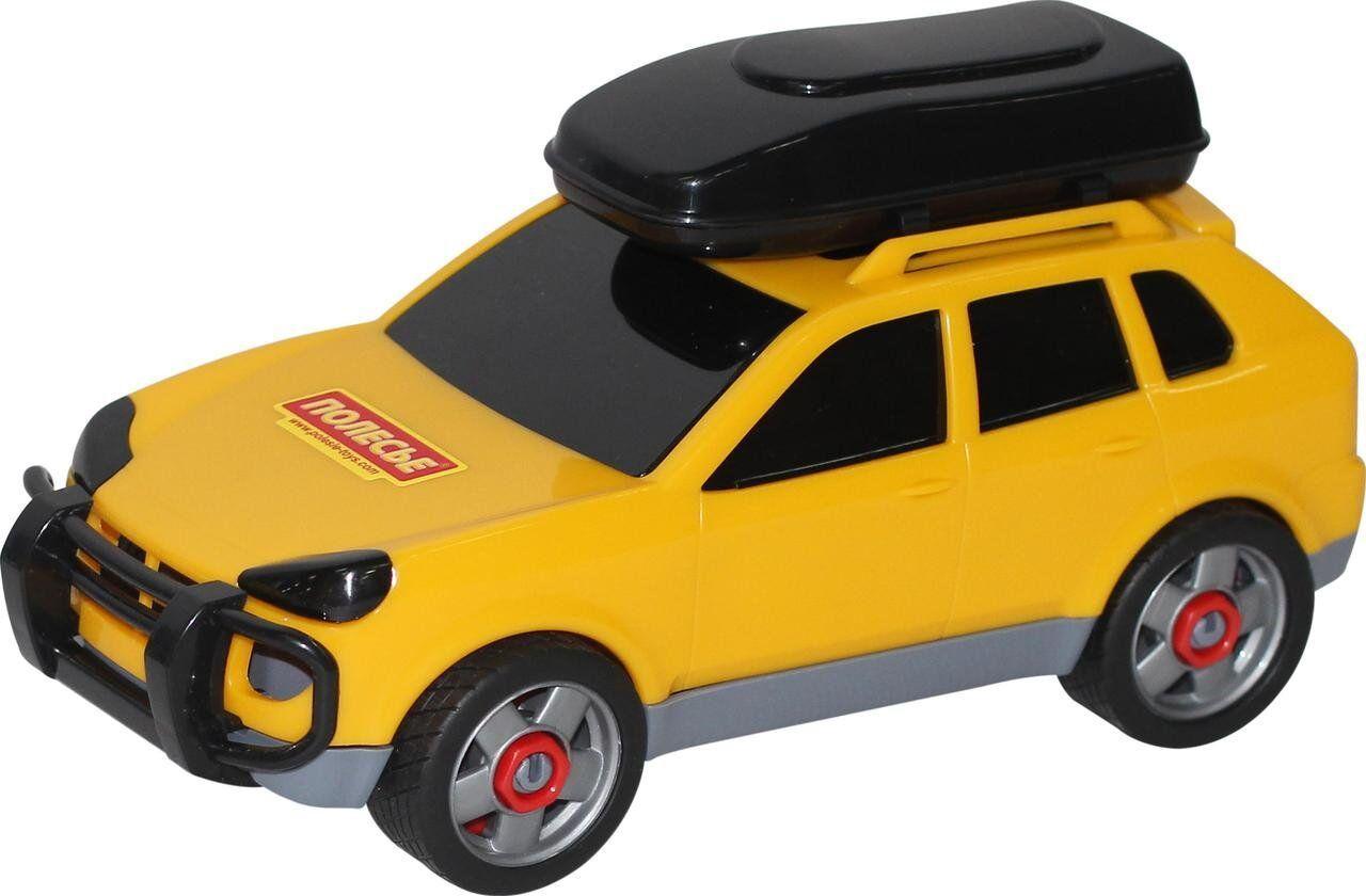 Іграшка Polesie автомобіль легковий (в сіточці) жовтий (53671-1)