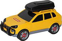 Іграшка Polesie автомобіль легковий (в сіточці) жовтий (53671-1), фото 1
