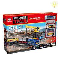 Игровой наборЖелезная дорога с подъёмным краном -Maya Toys(2082)