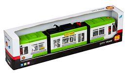 """Игрушка Big Motors """"Городской трамвай"""" зеленый (1258-1)"""