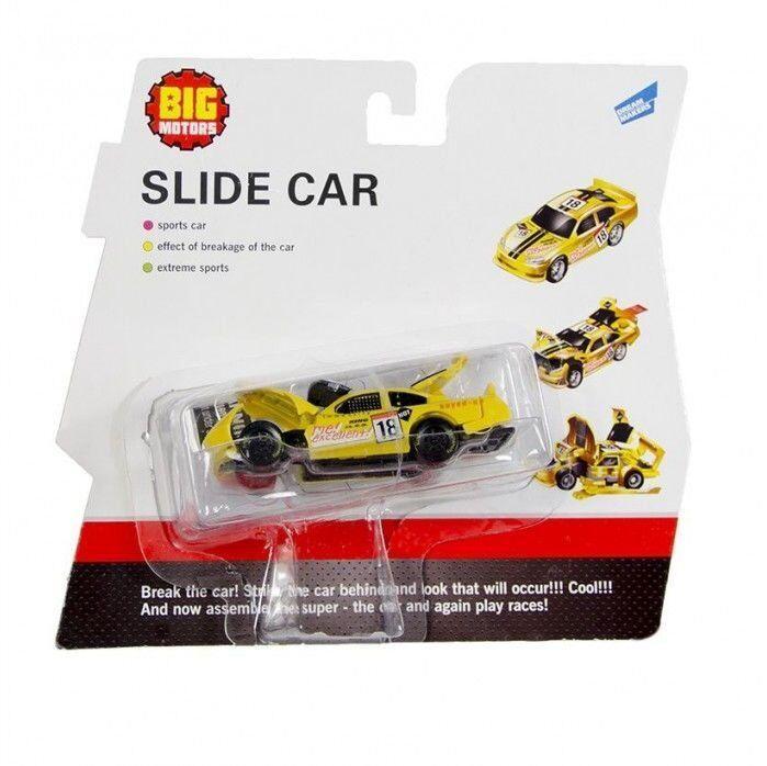 """Игрушка Big Motors """"Машинка Краш-тест"""" (6689B-1)"""