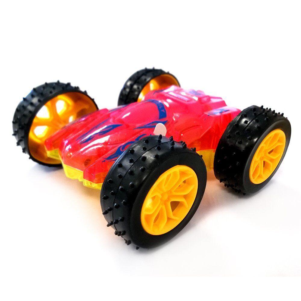 """Іграшка Big Motors """"Машинка - перевертышь"""" рожева (666-1)"""