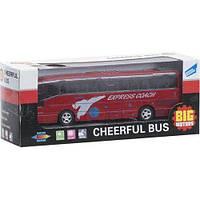 Автобус инерционный Big Motors красный (XL80136L-1)
