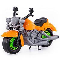 """Игрушка Polesie мотоцикл гоночный """"Кросс"""" оранжевый (6232-2)"""