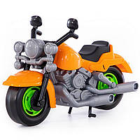 """Игрушка Polesie мотоцикл полицейский """"Харлей"""" оранжевый (8947-1)"""