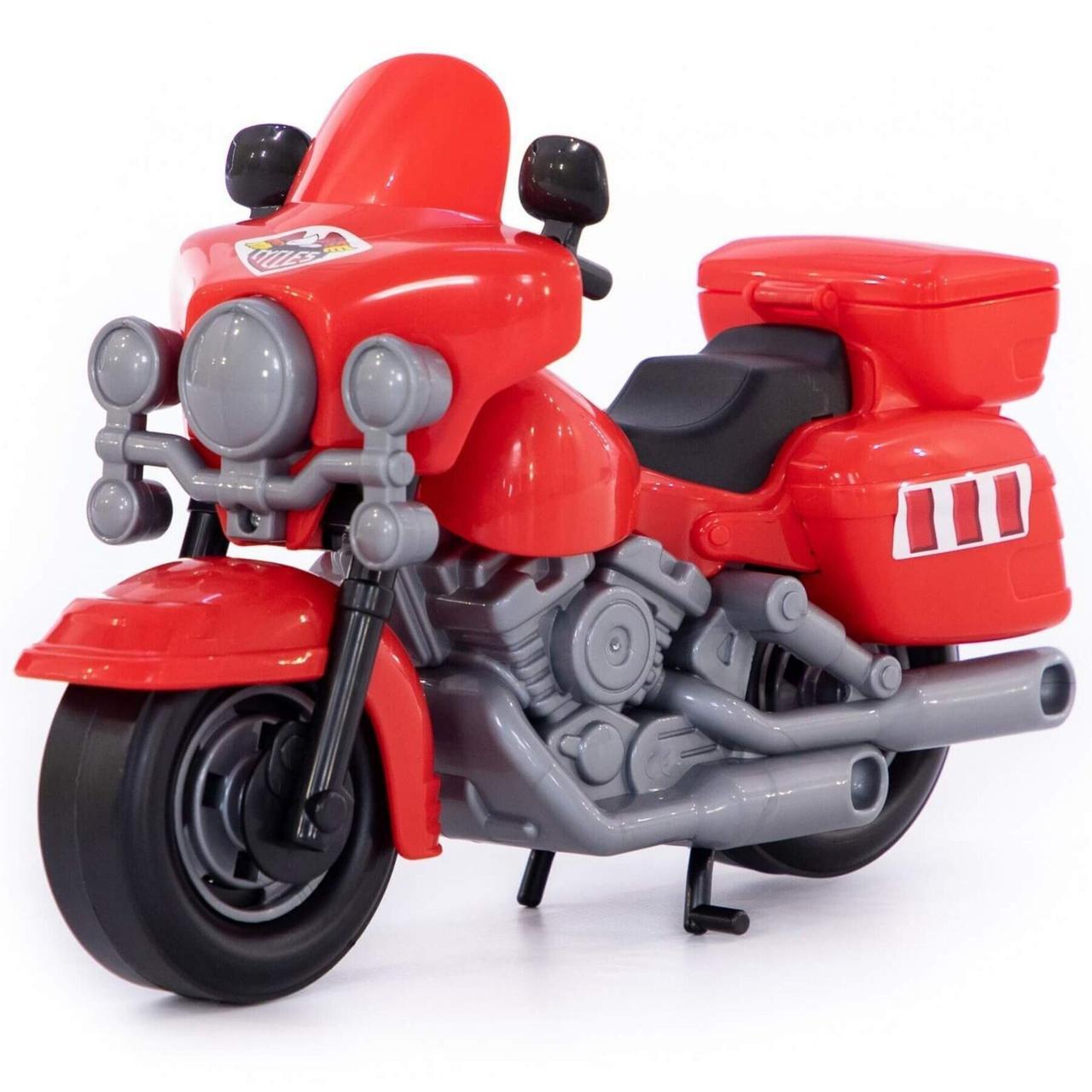 """Іграшка Polesie поліцейський мотоцикл """"Харлей"""" червоний (8947-4)"""