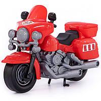 """Іграшка Polesie поліцейський мотоцикл """"Харлей"""" червоний (8947-4), фото 1"""