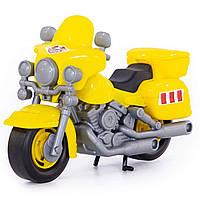 """Игрушка Polesie мотоцикл полицейский """"Харлей"""" желтый (8947-3)"""