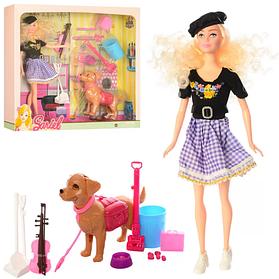 Кукла-скрипачка Bambi с собачкой Sariel  КОД: roy_arp132S7726