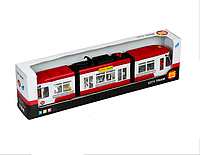 """Игрушка Big Motors """"Городской трамвай"""" красный (1258-2)"""