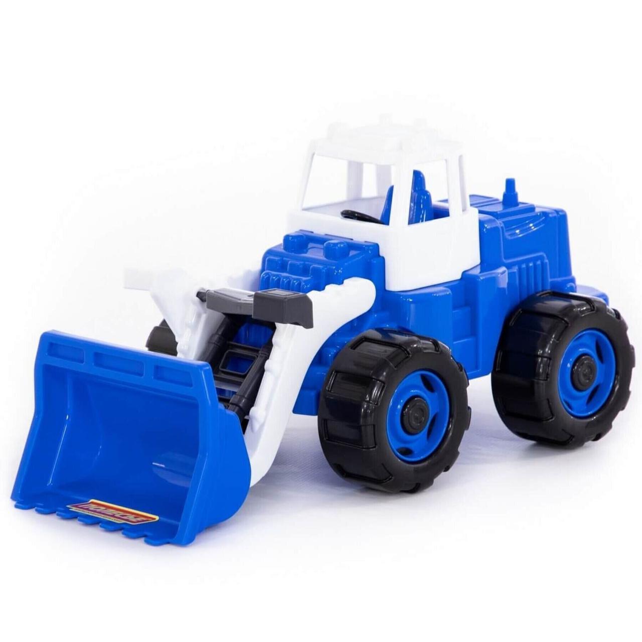 """Іграшка Polesie """"Вулкан"""" трактор-навантажувач помаранчевий (52254-1)"""