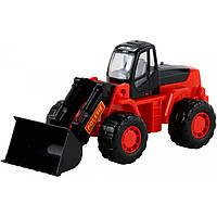 """Игрушка Polesie """"Умелец"""", трактор-погрузчик черно-красный (36940-4), фото 1"""