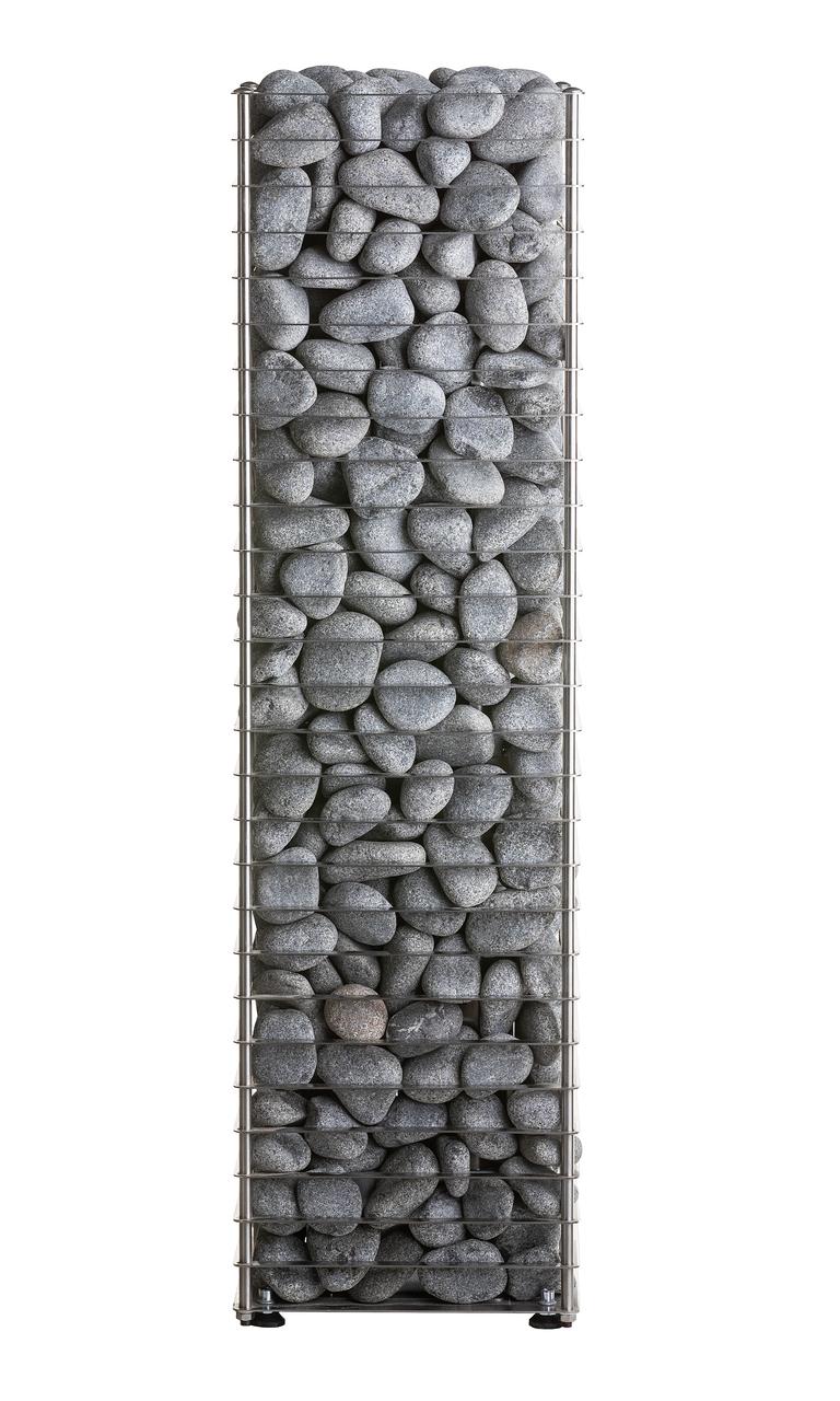 Настеная электрокаменка HUUM CLIFF 10.5 кВт, объем парилки 10-17 м.куб, вес камней 75 кг