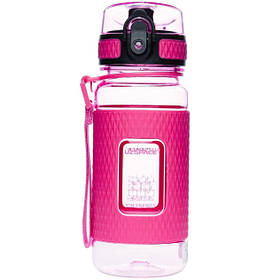 Бутылка для воды UZspace Diamond 5043 370 мл Розовая КОД: 015332