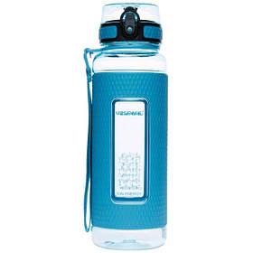 Бутылка для воды UZspace Diamond 5046 950 мл Голубая КОД: 015335