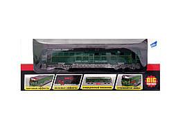 Игрушка BIG MOTORS Поезд зеленый (G1717-1)