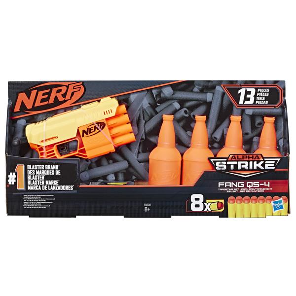 НЕРФ Альфа Страйк Фанг QS 4 (бластер і мішені), E8308