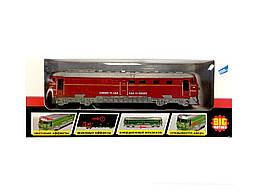 Игрушка BIG MOTORS Поезд красный(G1717-3)