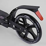 Самокат алюминиевый складной двухколёсный для взрослых и детей 22788 Best Scooter, фото 6