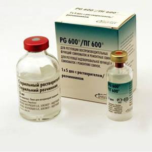 гормональные, маточные и противомаститные препараты