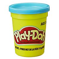 Тесто Play-Doh в баночке 112 г Голубой цвет (B6756-6)