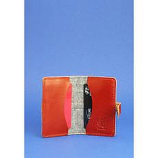 Фетровий кард-кейс 6.1 із коричневими шкіряними вставками, фото 2