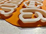 Вирубка Алфавіт російсько-український 5см   3D формочки - Алфавіт, фото 3