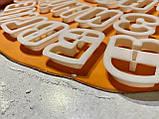 Вирубка Алфавіт російсько-український 5см   3D формочки - Алфавіт, фото 5