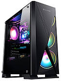 Корпус 2E Gaming CONDOR, Black, без БП, Midi Tower, для ATX / Micro ATX / mini-ITX, 3x120 ARGB Fan