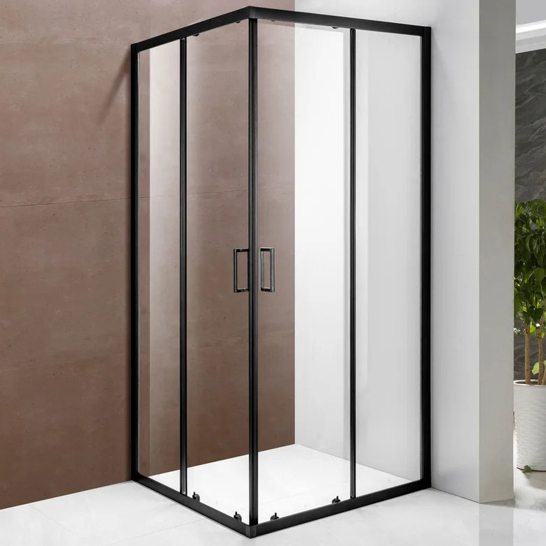 Скляна душова кабіна AVKO Glass 1221B 190х90х90 см Clear перегородка для душу