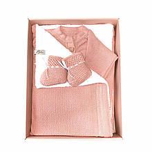 Набор для новорожденного розовый