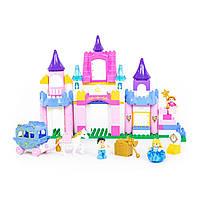 """Конструктор для дівчинки """"Весела принцеса"""" POLESIE """"Максі"""", 146 елементів (77684), фото 1"""