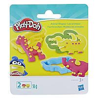 """Пластилин для детской лепки Плей-До """"Мини-набор с формочками и баночками"""" (E0801_E1498)"""