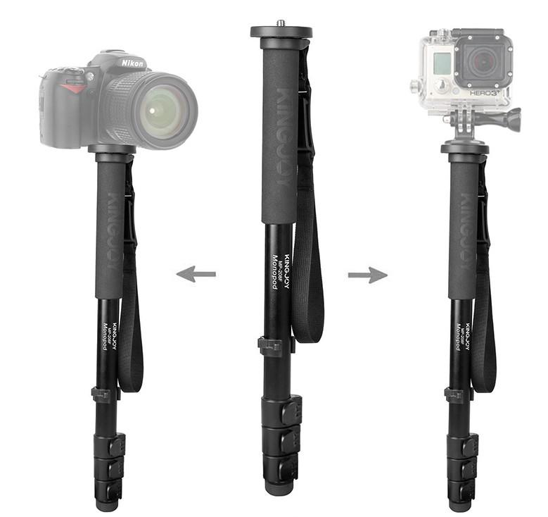 KINGJOY MP280F лёгкий и прочный монопод для камеры
