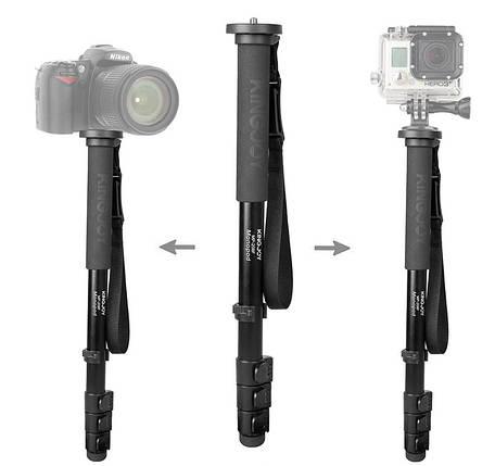 KINGJOY MP280F лёгкий и прочный монопод для камеры, фото 2