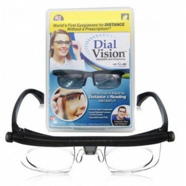 Очки лупа с индивидуальной регулировкой линз Dial Vision