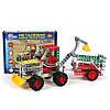 Конструктор металевий «Трактор игрушечный з причепом ТехноК»
