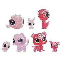 Ігровий набір Hasbro Littlest Pet Shop 7 квіткових петов Роза (E5149_E5162)