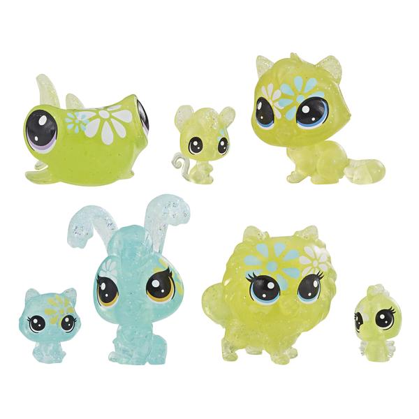 Ігровий набір Hasbro Littlest Pet Shop 7 квіткових петов Дейзі (E5149_E5165)