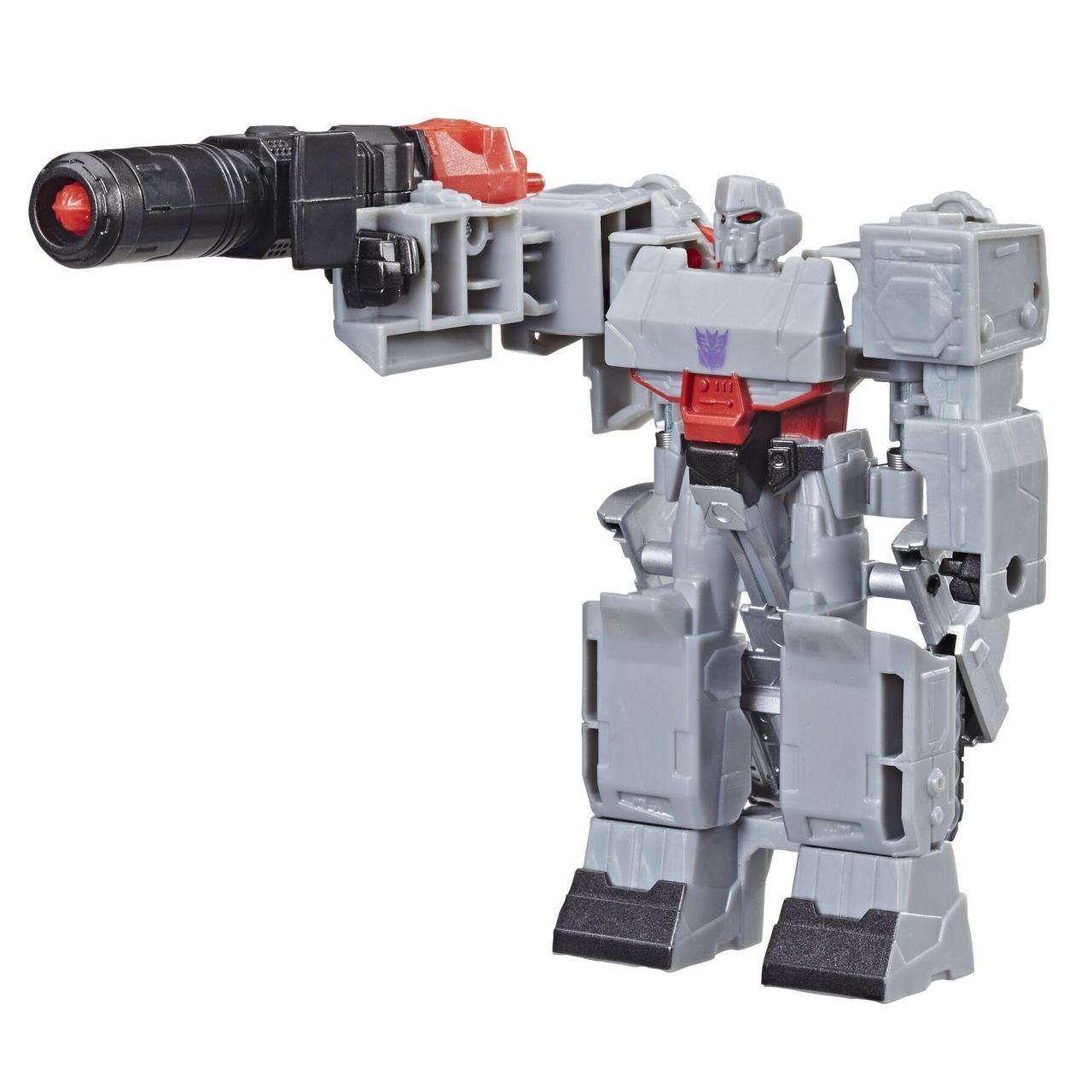 Трансформер Hasbro Transformers Кибервселенная 1 шаг Мегатрон (E3522_E3643)