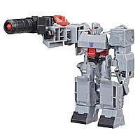 Трансформер Hasbro Transformers Кибервселенная 1 шаг Мегатрон (E3522_E3643), фото 1