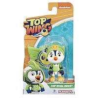 Ігровий набір HASBRO -TOP WING Відважні Пташенята зі значком, TOP WING BRODY, E5283_E5295